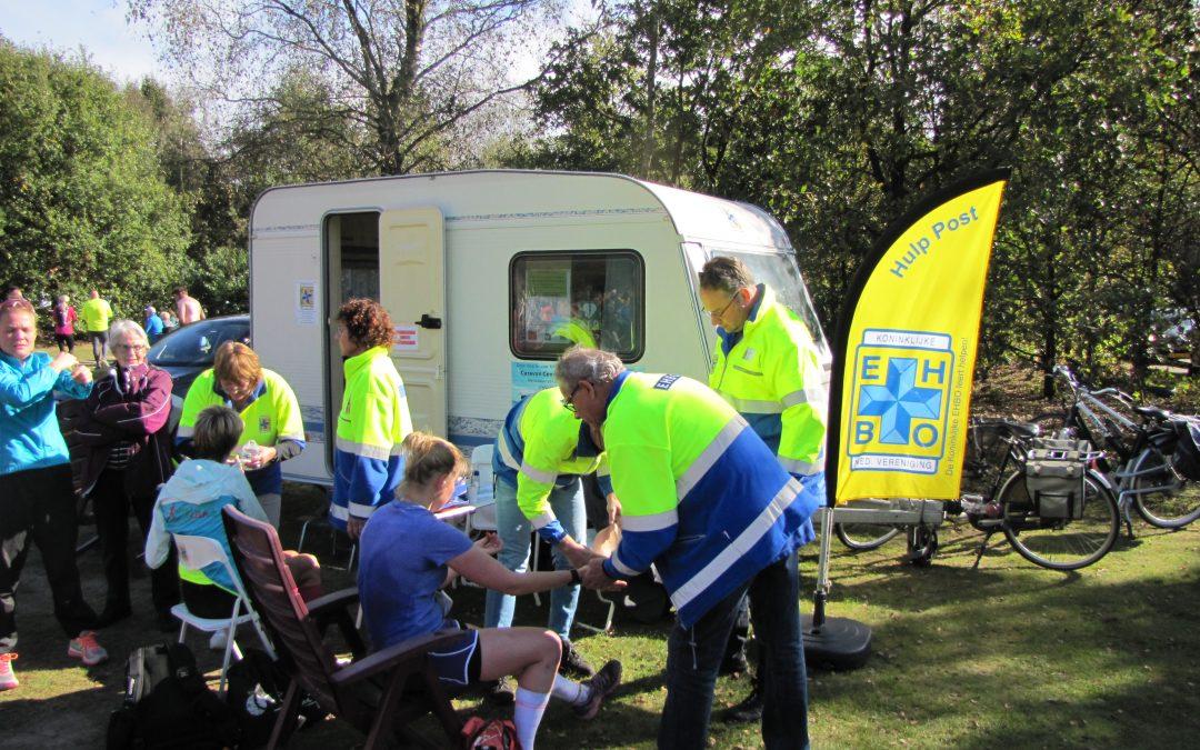 EHBO Leersum caravan tijdens evenementen